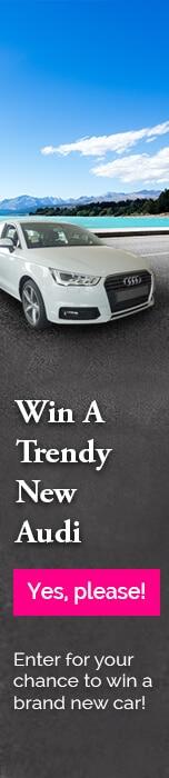 Win a brand new Audi