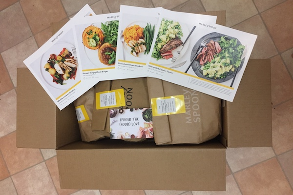 marley spoon box meal kit benefits