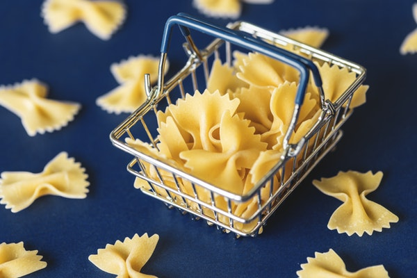 food poisoning pasta